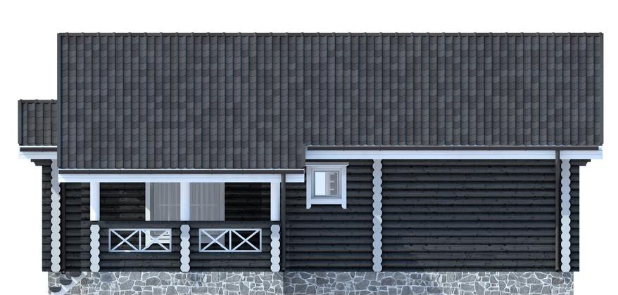 Проект АК-119. Площадь дома 118,7 м2