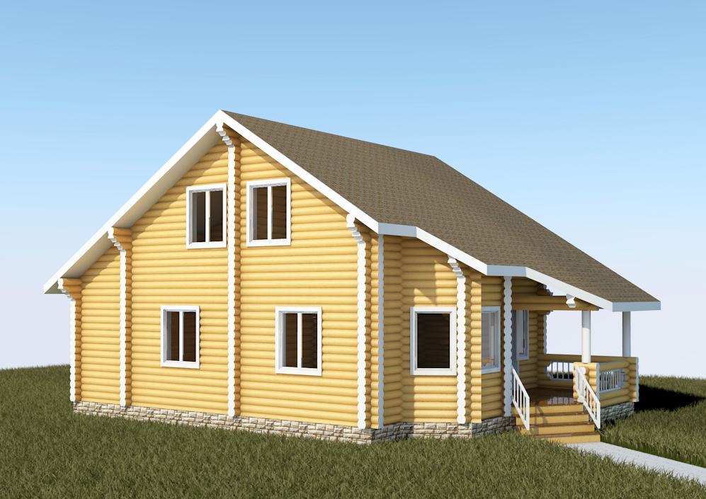 Проект АК-123. Площадь дома 123,1 м2