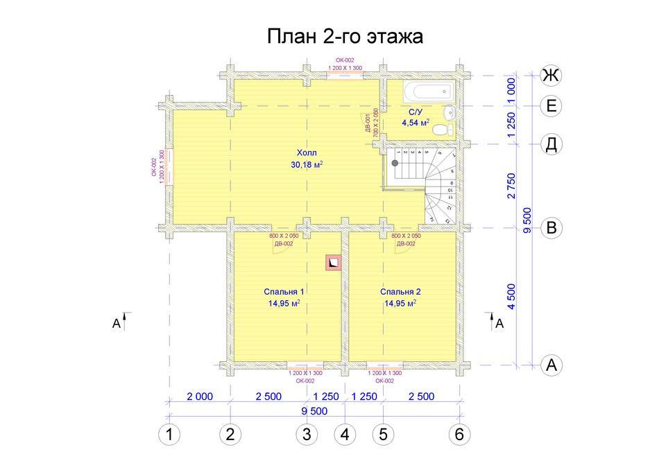 Проект АК-141. Площадь дома 141,1 м2